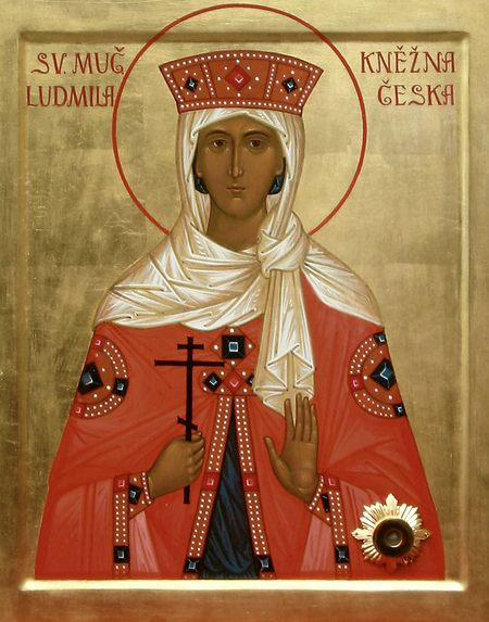 Brněnská ikona sv. Ludmily